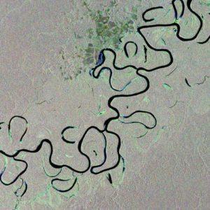 Juruá jest jednym z najdłuższych dopływów Amazonki. Niektóre rzeki tropikalnych lasów deszczowych należą do największych rzek naszej planety dzięki ogromnej ilości opadów zasilających ich koryta. Dzięki uprzejmości: ESA